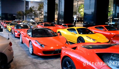 Video: Ferrari Gathering in Singapore Attracts Over 40 Vehicles