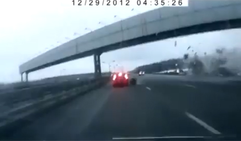 Video: Dash Camera Captures Horrific Russian Plane Crash