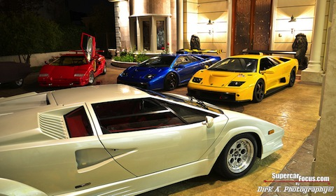 Lambos Supercar Gather