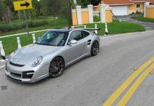 2010 Porsche 911 Turbo on ADV10.1 wheels