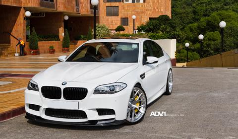 BMW F10 M5 on ADV7 Track Spec wheels