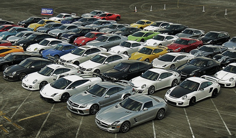 Photo Of The Day: Group of 58 Supercars in the Philippines