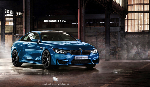 Rendering 2014 BMW E82 M4 by Wildspeed