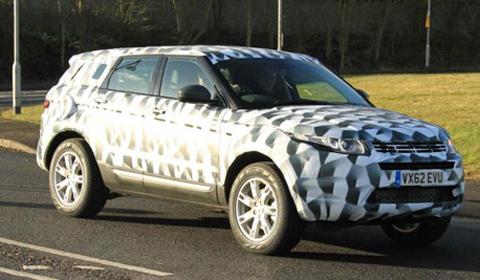 2014 Land Rover Freelander spyshots