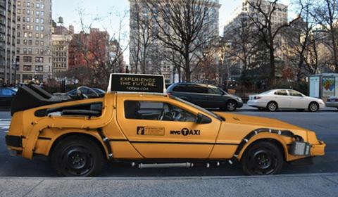 DeLorean Taxi Concept