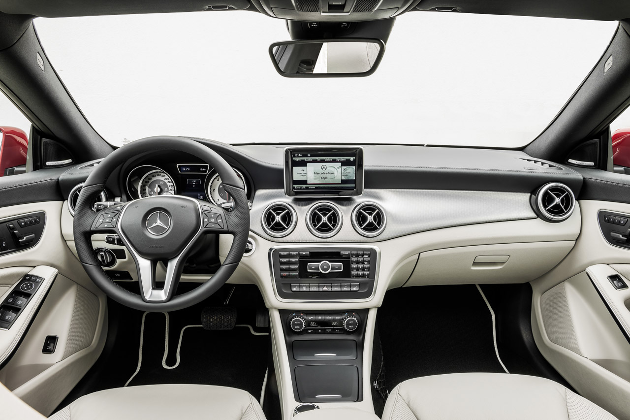 Mercedes-Benz's CLA250 is expected to fall just below the C-Class in