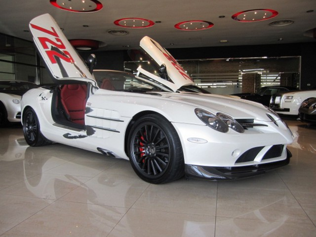 For Sale: 2009 Mercedes-Benz SLR McLaren Roadster 722 S in Dubai