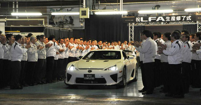 Technologies From Lexus LFA to Survive in Future Toyota Models
