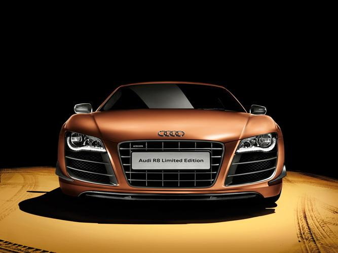 Official: Audi R8 V10 Limited Edition for China