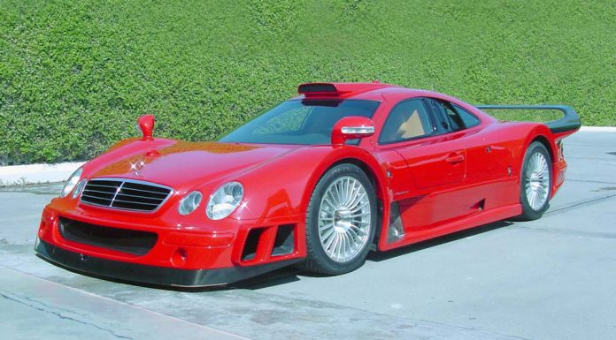 Details Revealed About one-off Mercedes-Benz CLK GTR Supersports For Sale