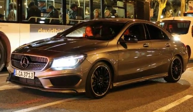 Video: 2013 Mercedes-Benz CLA with AMG Styling Package in Barcelona