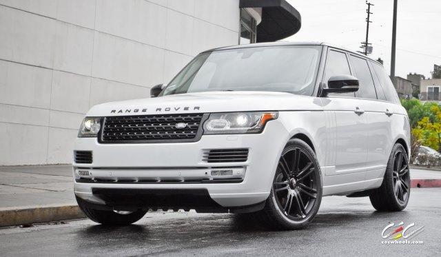 2013 Range Rover with CEC Wheels