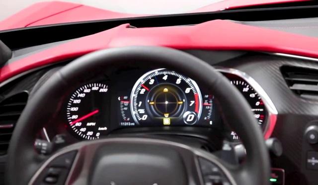 2014 Chevrolet Corvette Reconfigurable Instrument Cluster