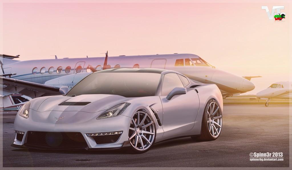 Render: 2014 Chevrolet Corvette Stingray ZR1