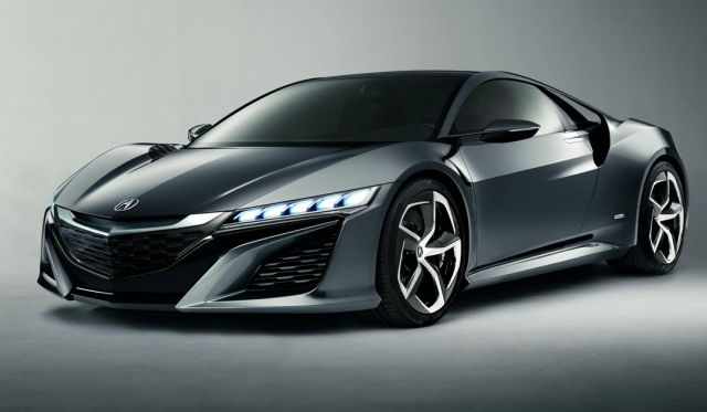 2015 Acura NSX Concept 2nd Generation