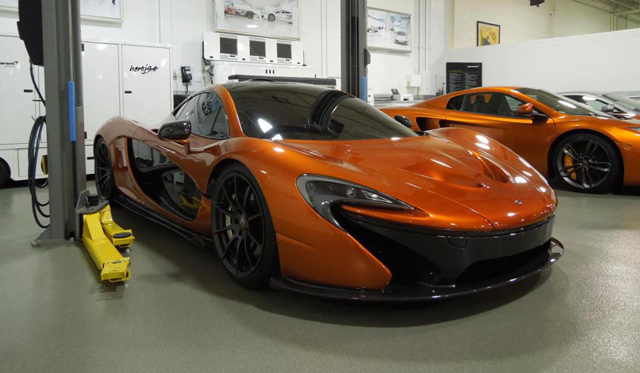 McLaren P1 Spotted at Illinois Supercar Dealership