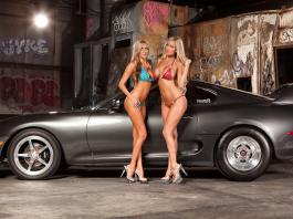 Jessica Barton's Toyota Supra