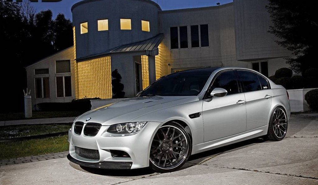 Supercharged BMW E92 M3 by iND Performance on ADV.1 Wheels