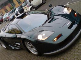 McLaren F1 GT Staring at 'Dream Cars for Wishes' in Brussels