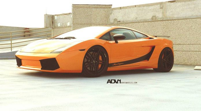 Lamborghini Gallardo Completed with ADV05.1 SL Wheels