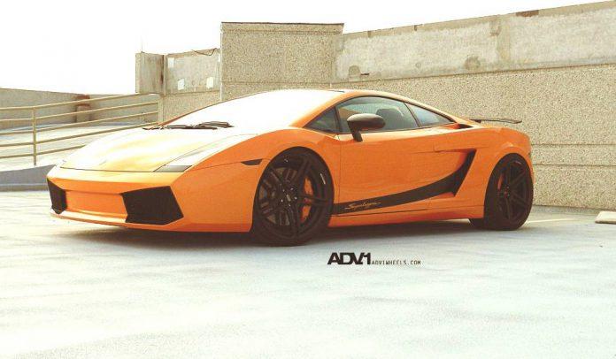 Lamborghini Gallardo Completed with ADV05.1 SL Wheels