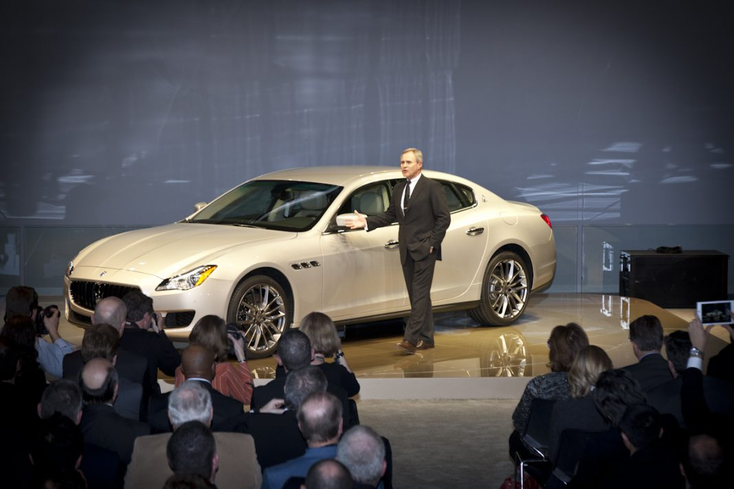 Detroit 2013 Maserati Quattroporte 01