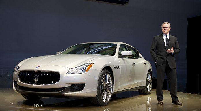 Detroit 2013 Maserati Quattroporte