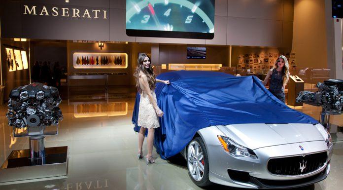 Detroit 2013 Maserati Quattroporte 02