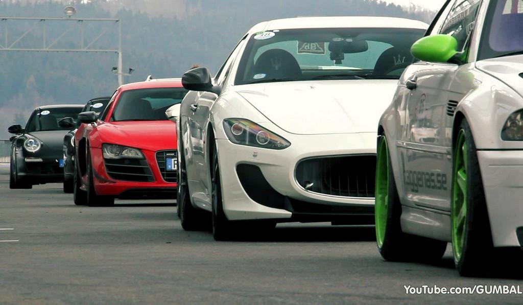 Video: Maserati GranTurismo MC Stradale Driving at Spa