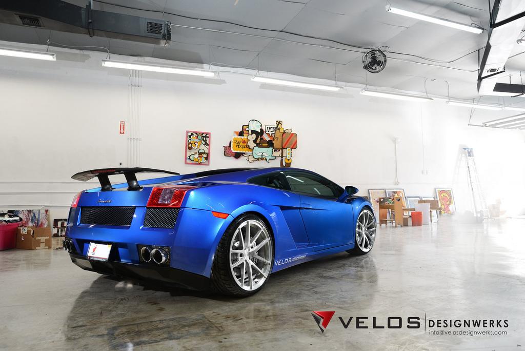 Blue Lamborghini 'Leonardo' Gallardo by Velos Designwerks
