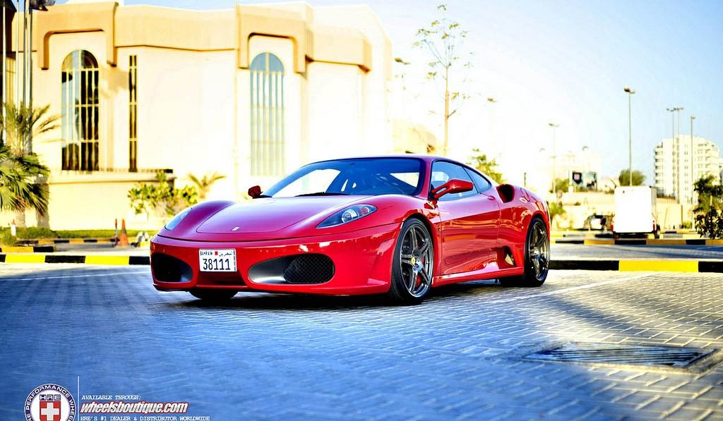 Ferrari F430 on HRE P47 Wheels