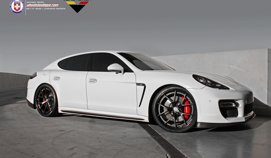 Porsche Panamera by Vorsteiner on HRE S101 Wheels