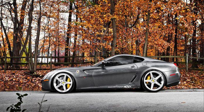 Ferrari 599 GTB Completed With ADV.1 Wheels