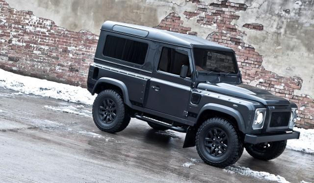 A Kahn Design Land Rover Defender Military Edition