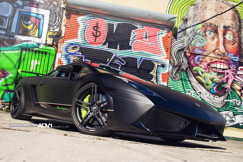 Twin Turbo Lamborghini Gallardo Superleggera by Wheels Boutique on ADV.1 Wheels