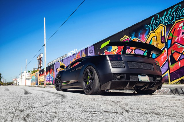Twin Turbo Lamborghini Gallardo Superleggera by Wheels Boutique on ADV.1 Wheels