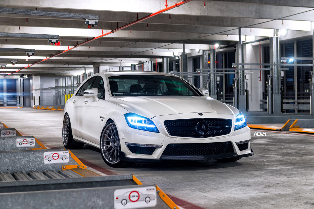 Mercedes-Benz CLS63 AMG by Renntech on ADV.1 Wheels