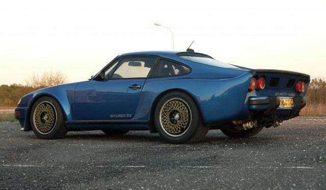Almeras Porsche 911 Twin Turbo Rear