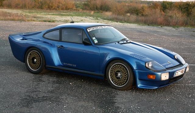 Almeras Porsche 911 Twin Turbo