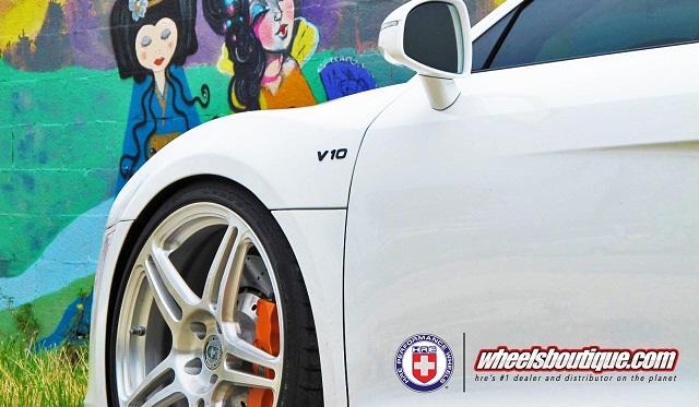 Audi R8 HRE Wheels
