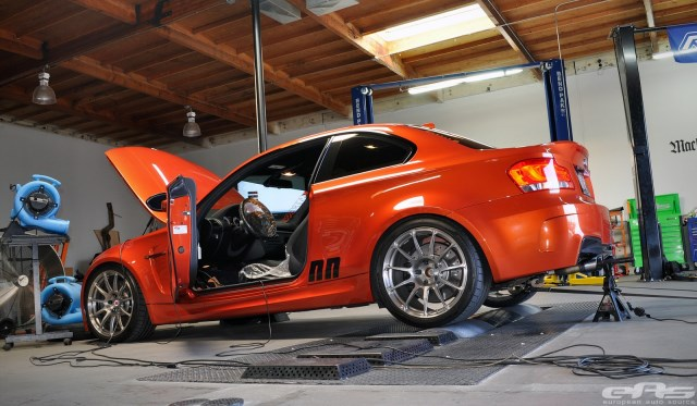 BMW E82 1M on the Dyno