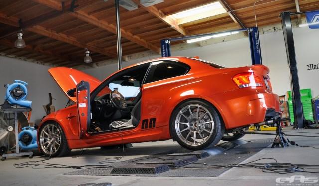BMW E82 1M on the Dyno