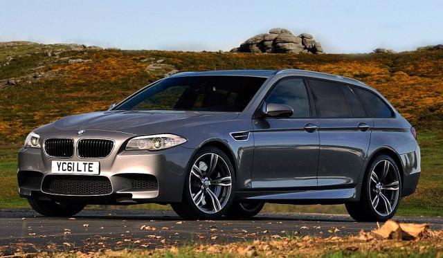 Render BMW F10 M5 Touring Wagon