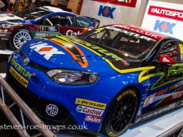 BTCC at Autosport International 2013