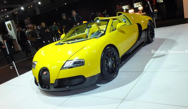 Bugatti Veyron Grand Sport at Brussels Motor Show