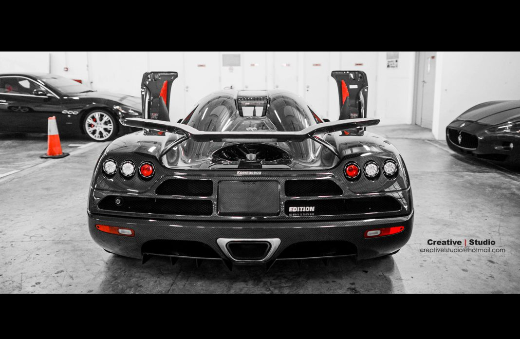 Photo Of The Day: World's Only Right-Hand Drive Koenigsegg CCXR