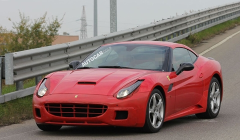 New Ferrari California Could Be Turbocharged