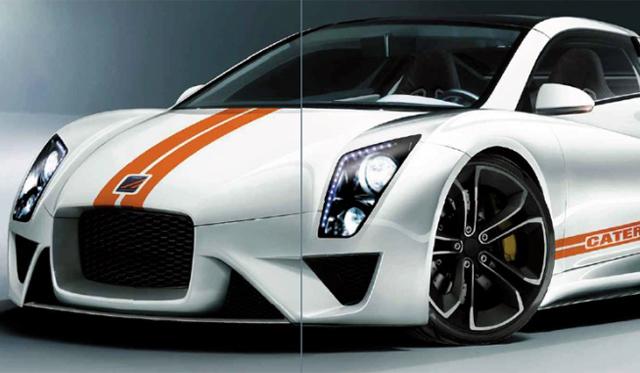 Render: 2015 Renault-Caterham Sports car by EVO Magazine