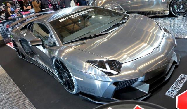 Lamborghini LB-R Aventador by Liberty Walk