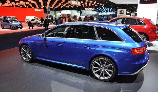 Audi RS4 Avant - 2013 Brussels Motor Show